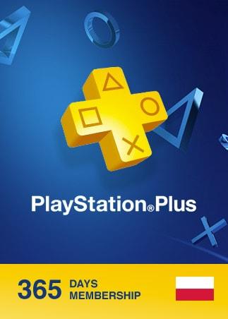 Playstation Plus CARD 365 Days POLAND PSN - 1