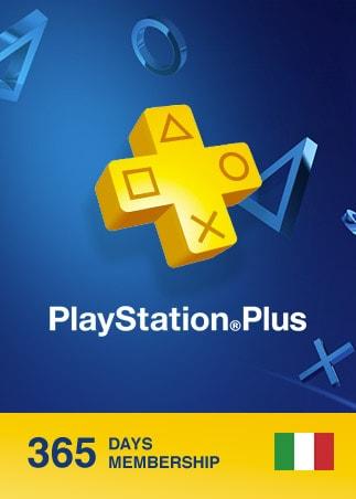Playstation Plus CARD 365 Days PSN ITALY - 1