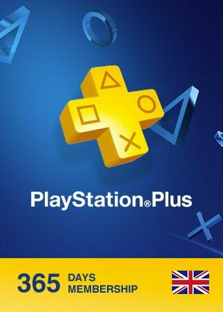 Playstation Plus CARD 365 Days PSN UNITED KINGDOM - 1