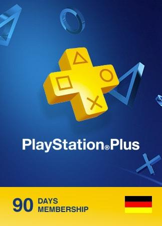 Playstation Plus CARD 90 Days PSN GERMANY - 1