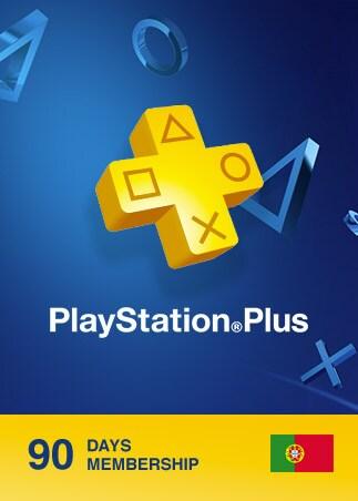 Playstation Plus CARD 90 Days PSN PORTUGAL - 1
