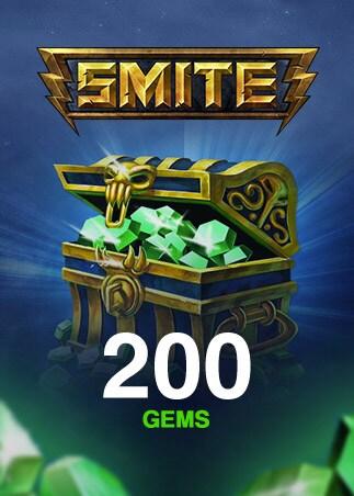 SMITE GEMS 200 Coins (PC) - SMITE Key - GLOBAL - 1