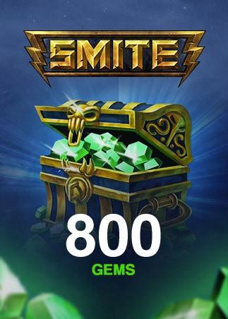 SMITE GEMS 800 Coins (PC) - SMITE Key - GLOBAL - 1