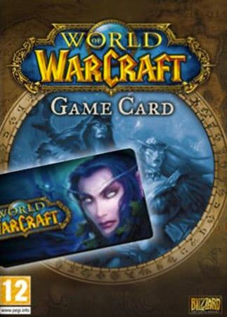 World of Warcraft Time Card 30 Days Battle.net EUROPE - 1