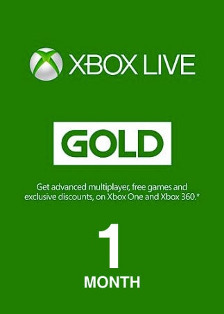 Xbox Live GOLD Subscription Card 1 Month Xbox Live GLOBAL - 1