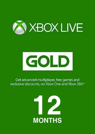 Xbox Live GOLD Subscription Card 12 Months - Xbox Live Key - EUROPE - 1