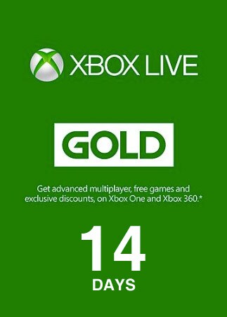 Xbox Live Gold Trial 14 Days Xbox Live EUROPE - 1