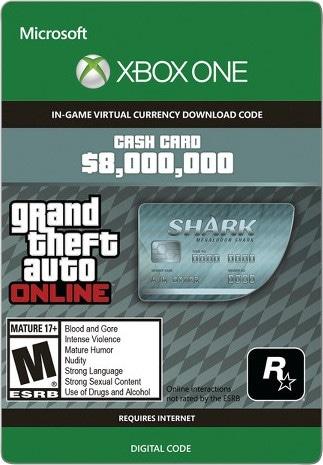 Grand Theft Auto Online: Megalodon Shark Cash Card 8 000 000 Xbox Live Key GLOBAL - 1