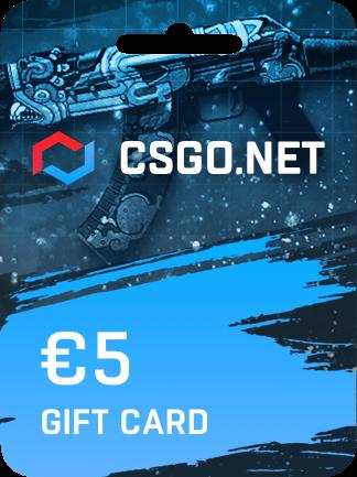 CSGO.net Gift Card 5 EUR - 1