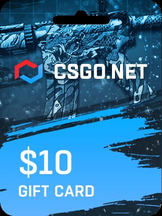 CSGO.net Gift Card 10 USD - 1