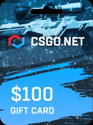CSGO.net Gift Card 100 USD - 1