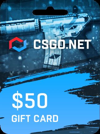 CSGO.net Gift Card 50 USD - 1
