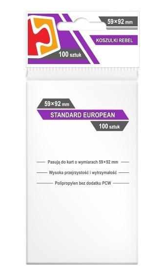 Koszulki Rebel (59x92) Standard European 100szt - 1