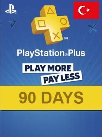 Playstation Plus CARD 90 Days TURKEY PSN - 2
