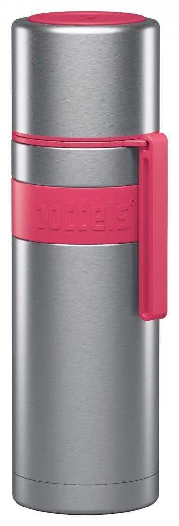 Boddels Heet Vacuum Flask With Cup Raspberry Red, Capacity 0.5 L, Diameter 7.2 Cm, Bisphenol A (Bpa) - 1