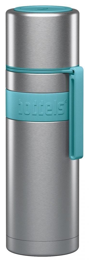 Boddels Heet Vacuum Flask With Cup Turquoise Blue, Capacity 0.5 L, Diameter 7.2 Cm, Bisphenol A (Bpa - 1