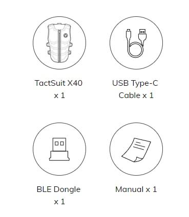 TactSuit X40 - 8