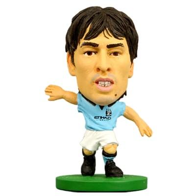 SoccerStarz Manchester City F.C. David Silva - 1