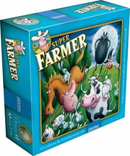 SUPER FARMER DE LUX DREWNIANE FIGURKI - 1