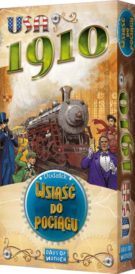 Wsiąść do Pociągu: USA 1910 - 1