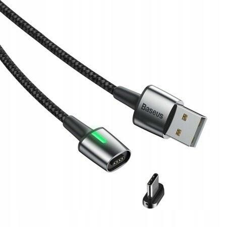 Baseus Zinc Cable USB - Type-C 1m Black Quick Charge 3A CATXC-A01 Black - 2