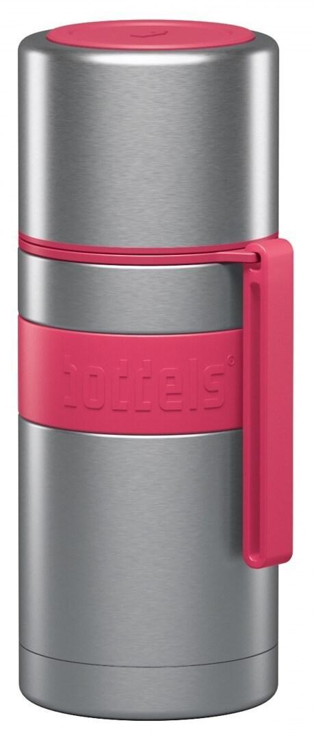 Boddels Heet Vacuum Flask With Cup Raspberry Red, Capacity 0.35 L, Diameter 7.2 Cm, Bisphenol A (Bpa - 1