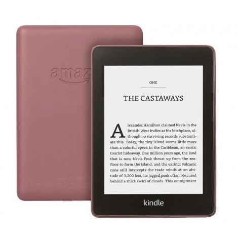 CZYTNIK E-BOOK AMAZON KINDLE PAPERWHITE 4 8GB WATERPROOF Z REKLAMAMI (ŚLIWKOWY) - 1