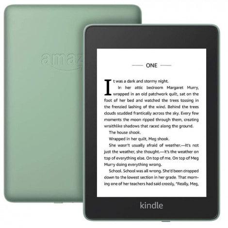 CZYTNIK E-BOOK AMAZON KINDLE PAPERWHITE 4 8GB WATERPROOF Z REKLAMAMI (ZIELONY) - 1