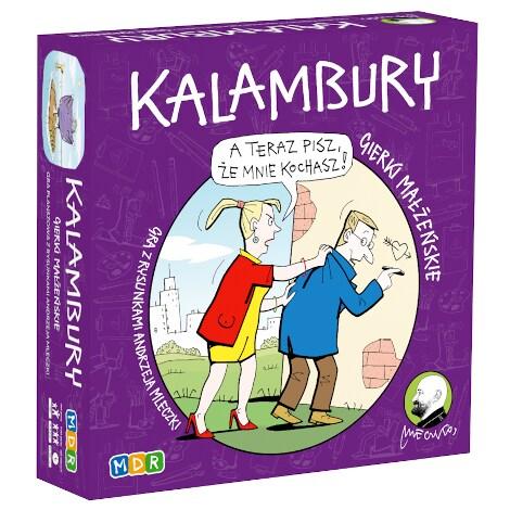 Gierki małżeńskie: Kalambury - 1