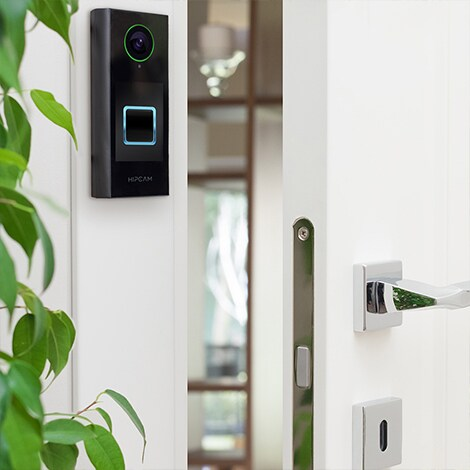 HIPCAM Doorbell Smart Home Security WiFi FullHD IR Nigth Vision 2 way Audio&Video, IP66 Face&Person detection - 3