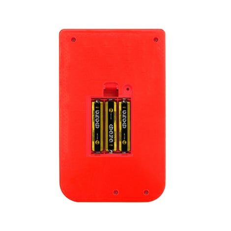 Retro Handheld Game Player Console, With 500 Preinstalled Vintage Games, Red Colour And Controller. - 3