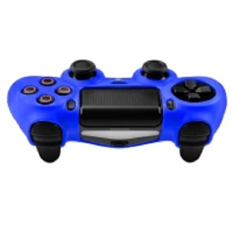 Silicone Protect Case BLUE (PS4) Blue - 2