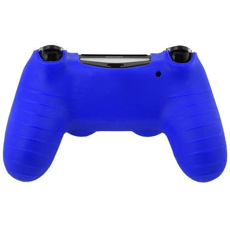Silicone Protect Case BLUE (PS4) Blue - 3