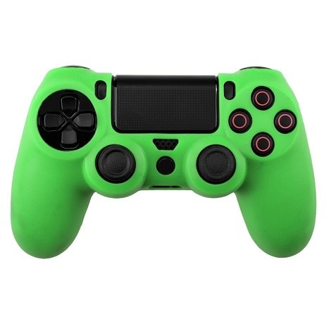Silicone Protect Case GREEN (PS4) Green - 1