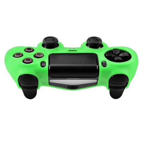 Silicone Protect Case GREEN (PS4) Green - 2