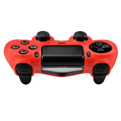 Silicone Protect Case RED (PS4) Red - 2