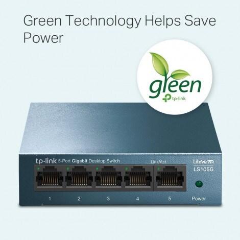 Switch TP-Link LiteWave LS105G - 2
