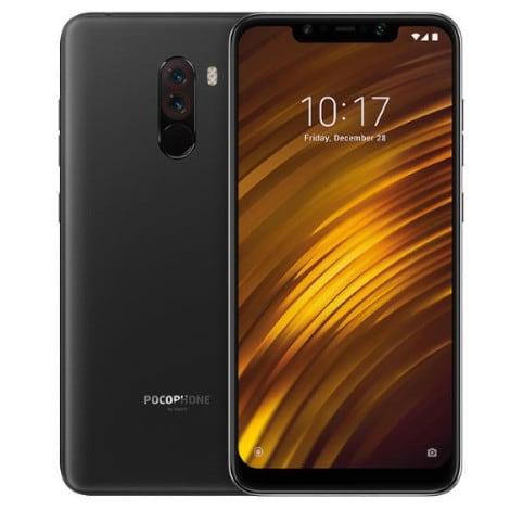 Xiaomi Pocophone F1 black, 6/64GB, DS  MZB6718EU - 1