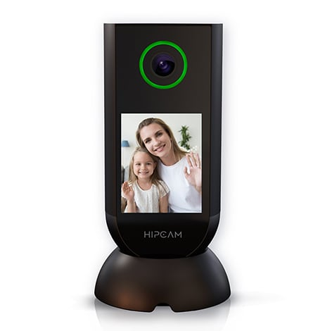 HIPCAM Indoor Smart Home Security Camera WiFi 1080 FHD Nigth Vision 2 Way Audio&Video Face & person detection - 1