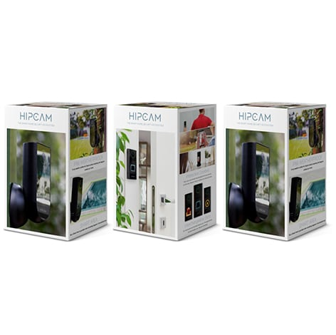 HIPCAM Smart Security Camera Pack Pro 2 (Doorbell+2 Outdoor)Wifi 1080 FHD, Nigth vision Face&Person detection - 4
