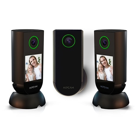 HIPCAM Smart Security Camera Pack Pro 4 (Outdoor + 2 Indoor)Wifi 1080 FHD, Nigth vision Face&Person detection - 1