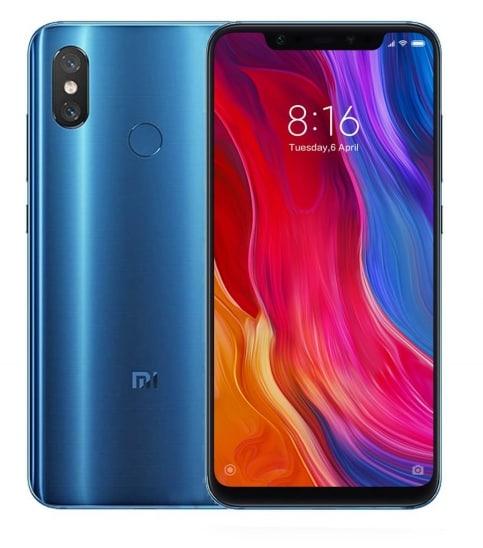 Xiaomi Mi 8 blue - 6/128Gb, LTE  MZB6594EU - 1