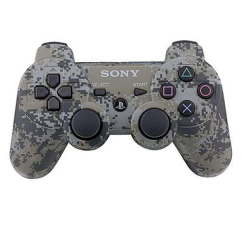 NEW Bluetooth Wireless Game Controller Remote Control Camo Camouflage For PS3 - 1