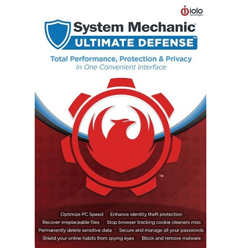 iolo System Mechanic Ultimate Defense - Unlimited Devices 1 Year - iolo Key - GLOBAL - 1