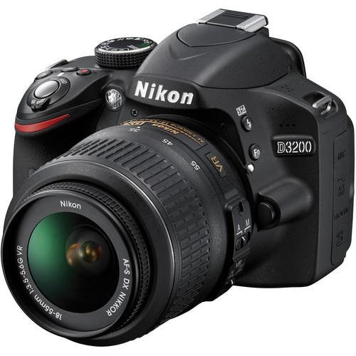 Nikon D3200 DSLR Camera with 18-55 Lens -24.2MP (NEW) - 1