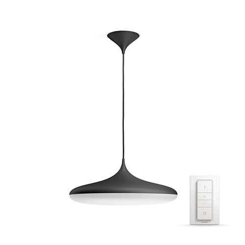Oprawa wisząca Cher Philips Hue, czarna, 1x39W LED, pilot w zestawie! smart home - 1