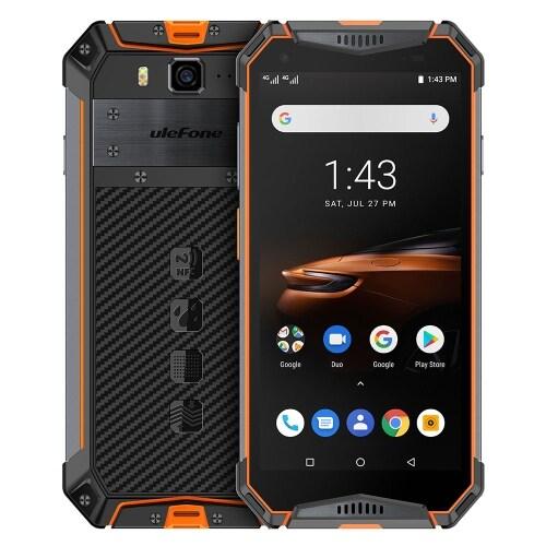 Ulefone Armor 3W Rugged Phone Dual 4G 6GB+64GB (Orange) - 1