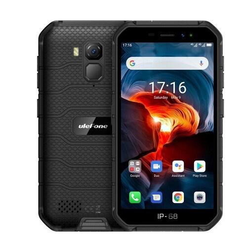 Ulefone Armor X7 Pro Rugged Phone, 4GB+32GB (Black) - 1
