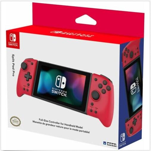 Nintendo Switch Hori Split Pad Pro Controller - Volcanic Red Red - 1