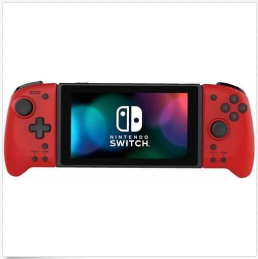 Nintendo Switch Hori Split Pad Pro Controller - Volcanic Red Red - 4
